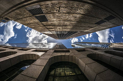 Photograph - Urban Canyon by Van Sutherland
