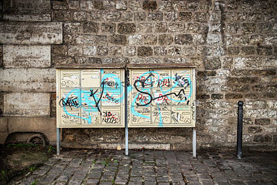 Photograph - Urban Couple Portrait, Paris by Jean Gill