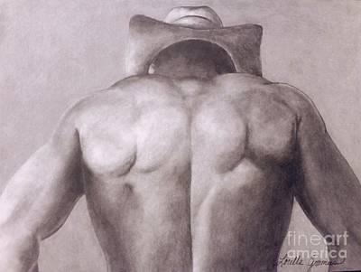 Drawing - Urban Cowboy by Lorelle Gromus