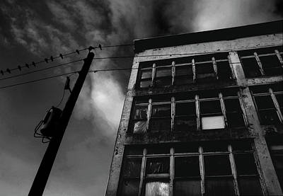 Photograph - Urban Desolation by Barbara  White