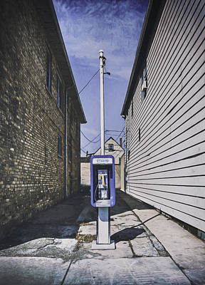 Telephone Photograph - Urban Dinosaur by Scott Norris
