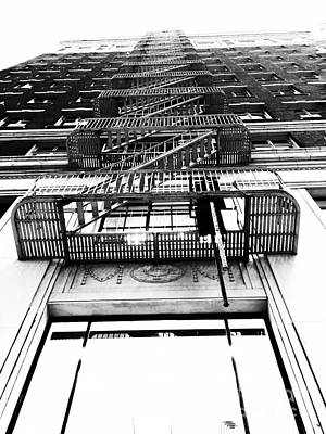Photograph - Urban Egress by Jenny Revitz Soper