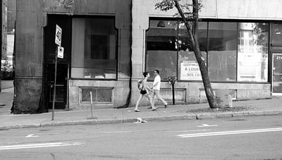 Urban Encounter Art Print