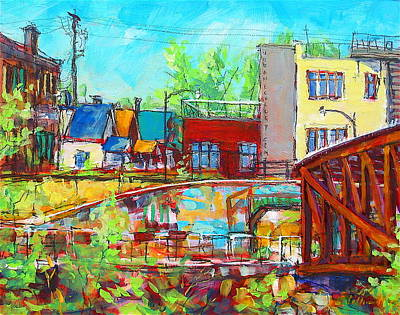 Painting - Urban Exposer by Les Leffingwell