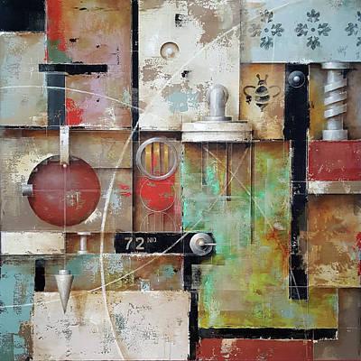 Painting - Urban Fabric by Ken Berman