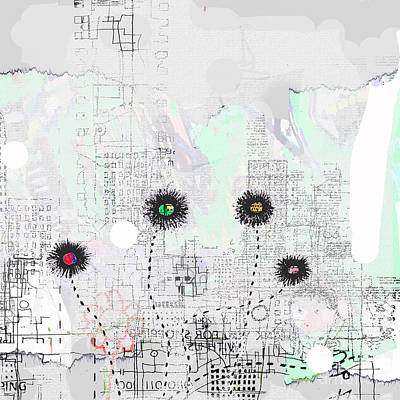 Urban Garden 2 Art Print by Andy  Mercer