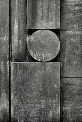 Stone Abstraction Photograph - Urban Geometrics by Robert Ullmann