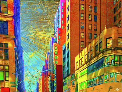Mixed Media - Urban Hope by Tony Rubino