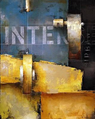 Painting - 15.020 - Urban Intersection by Ken Berman