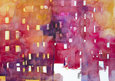 Painting - Urban Landscape 3 by Alessandro Andreuccetti