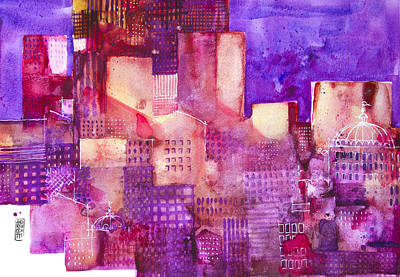 Painting - Urban Landscape 4 by Alessandro Andreuccetti