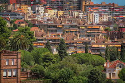 Photograph - Urban Layers by David Cote