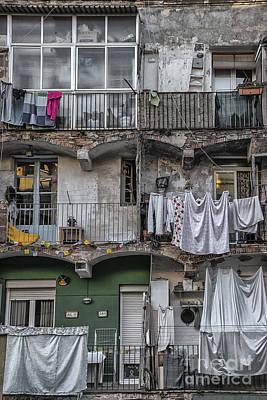 Entrance Door Mixed Media - Urban Life by Svetlana Sewell