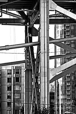 Urban Living In San Francisco Apartments And The Bay Bridge Original by Mark Hendrickson
