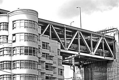 Urban Living In San Francisco Apartments Under The Bay Bridge Original by Mark Hendrickson