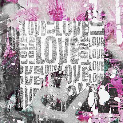 Photograph - Urban Love by Roseanne Jones