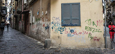 Photograph - Urban Napoli by Jocelyn Kahawai