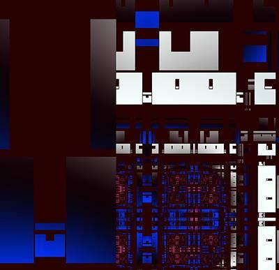 Digital Art - Urban Night by Inna Arbo