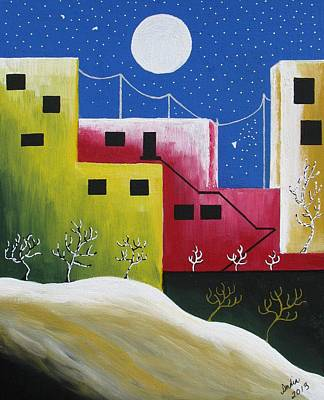 Painting - Urban Oasis by Heidi Moss