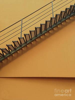 Corporate Art Photograph - Urban Orange by Elena Nosyreva