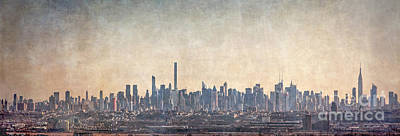 Royalty-Free and Rights-Managed Images - Urban Panorama by Evelina Kremsdorf