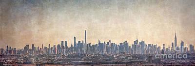 Photo Royalty Free Images - Urban Panorama Royalty-Free Image by Evelina Kremsdorf