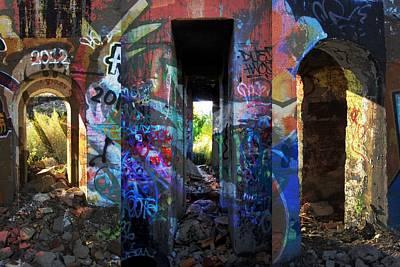 Digital Art - Urban Passages #1 by Anita Burgermeister