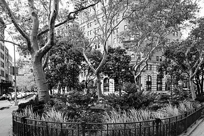 Photograph - Urban Pocket Park by Cate Franklyn