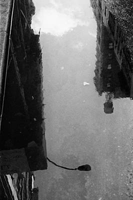 Photograph - Urban Puddle by Dave Beckerman