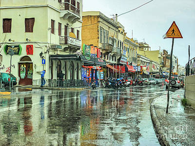 Urban Rain Original by Eleni Mac Synodinos