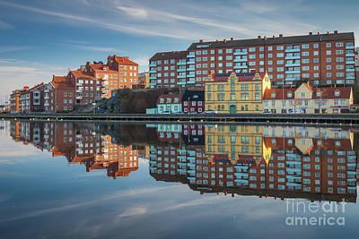 Reflective Photograph - Urban Reflection by Inge Johnsson