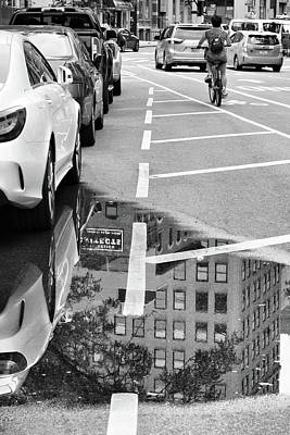 Photograph - Urban Reflections by Cate Franklyn