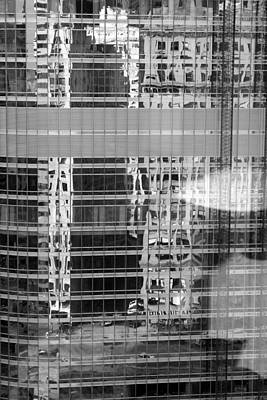 Photograph - Urban Reflections by Polly Castor