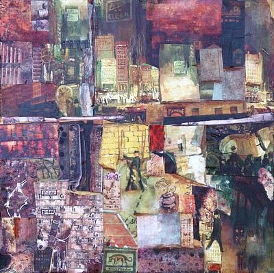 Mixed Media - Urban Renewal by Judy Tolley
