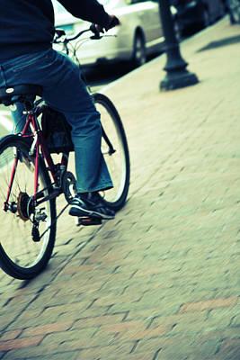 Photograph - Urban Ride by Karol Livote