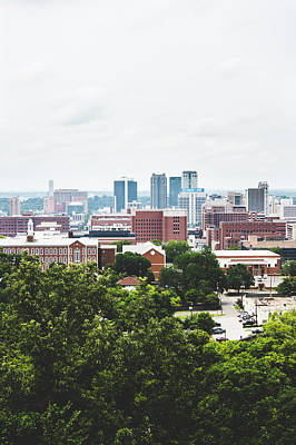 Art Print featuring the photograph Urban Scenes In Birmingham  by Shelby Young