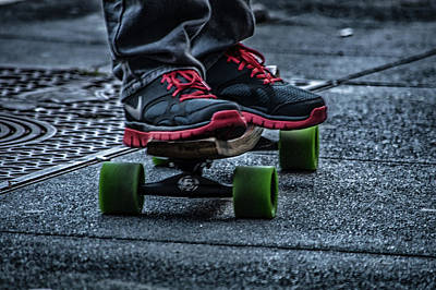 Photograph - Urban Skater by Bill Posner