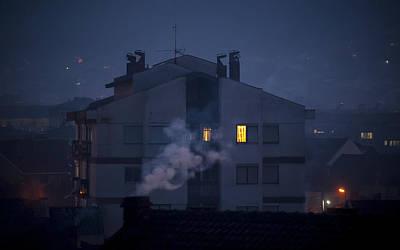 Photograph - Urban Smoke by Jonas Sundberg