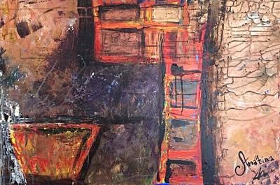 Base Path Painting - Urban Soul by Mahlia Amatina