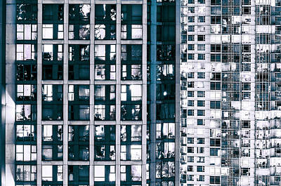 Photograph - Urban Sprawl Vancouver Grid by Amyn Nasser