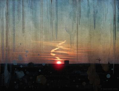 Painting - Urban Sunrise by Ivana Westin