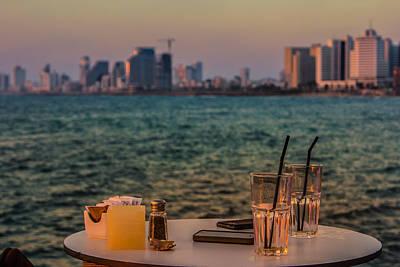 Photograph - Urban Sunset by Mark Perelmuter