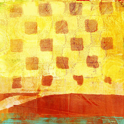 Warm Digital Art - Urban Sunset Number 4 Of 4 by Carol Leigh