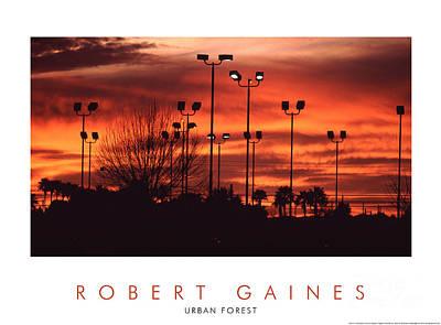 Photograph - Urban Sunset, Phoenix, Az by Robert Gaines