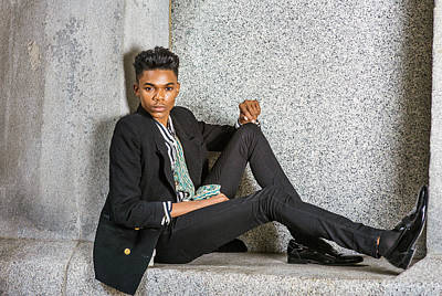 Photograph - Urban Teenage Boy Fashion 15042648 by Alexander Image