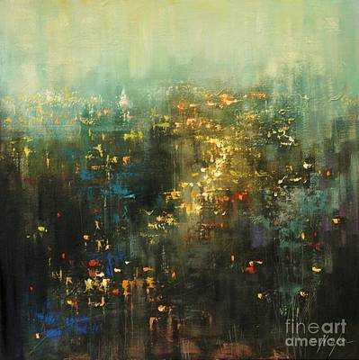 Painting - Urban Traffic by Chin H Shin