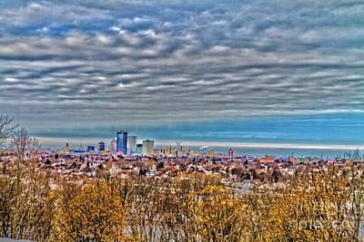 Photograph - Urban Vista by William Norton