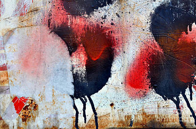 Mixed Media - Urban Wall Art 4  by Dt