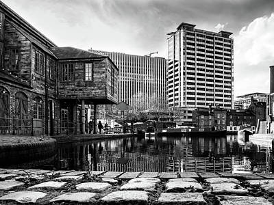 Photograph - Urban Waterway by Nick Bywater