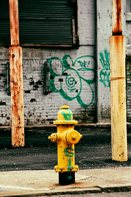 Photograph - Urban Writing by Karol Livote